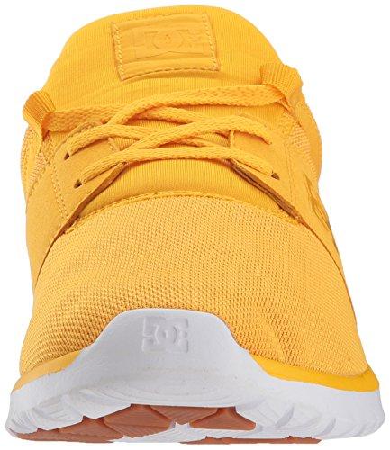 Dc Zapato De Skate Heathrow Para Hombre Amarillo / Dorado
