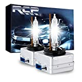 RCP D8S 4300K A Pair Xenon HID Replacement Bulb Warm White Metal Stent Base 12V Car Headlight Lamps Head Lights 25W