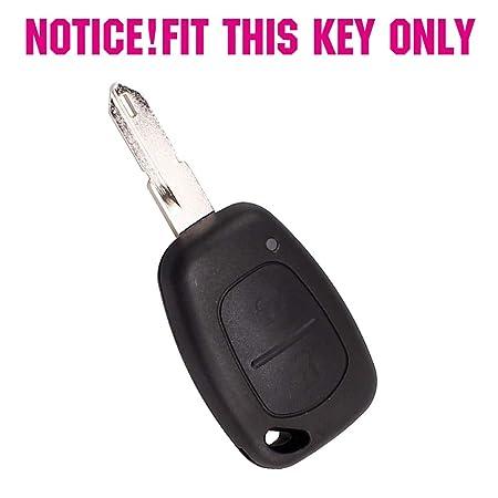 Amazon.com: Llavero de 2 botones de silicona para Opel ...