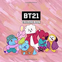 BT21 Coloring Book: BT21 Coloring Pages For