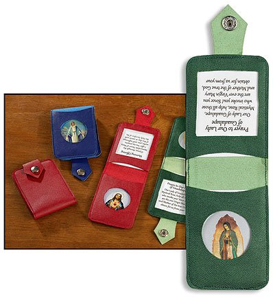 Virgin Mother Mary Our Lady of Guadalupe Prayer Folder Catholic Christian Holy Card (Folder Prayer)