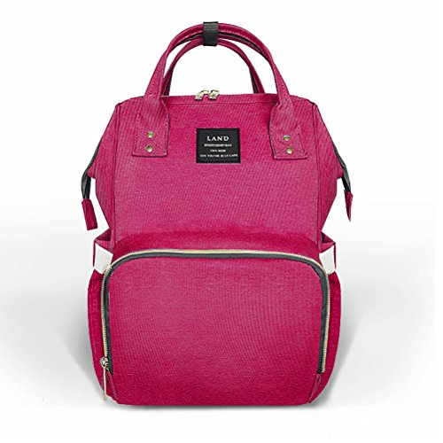 Cranberry Fabric Handbags - 7