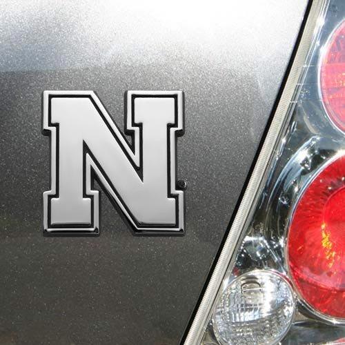 NCAA Nebraska Cornhuskers Team Logo Auto (Nebraska Cornhuskers Tailgater Mat)