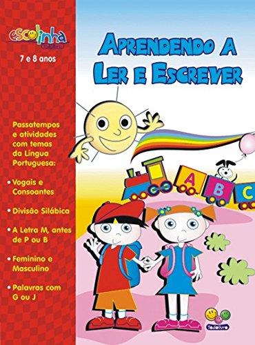 Download Aprendendo a Ler e Escrever. 7 e 8 Anos - Capa Vermelha PDF