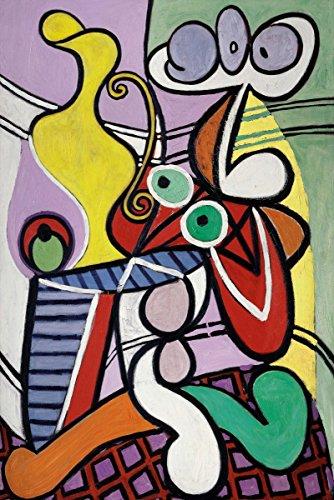 Pablo Picasso Abstract Art (Pablo Picasso - Grande Nature, Canvas Art Print, Size 16x24, Non-Canvas Poster Print)