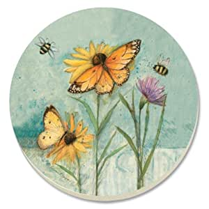 CounterArt Rejoice in Spring Absorbent Coasters, Set of 4