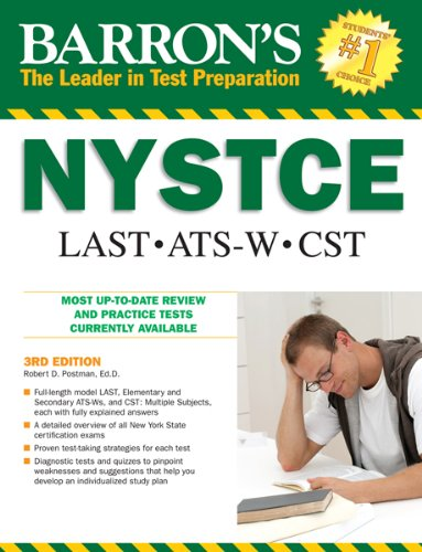 Barron's NYSTCE: LAST ●  ATS-W ● CST