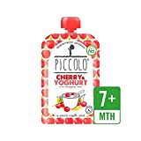 Piccolo Organic Cherry & Yoghurt with Wholegrain Oats 100g - Pack of 6