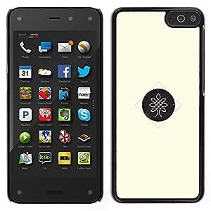 LECELL--Funda protectora / Cubierta / Piel For Amazon Fire Phone -- árbol dot --