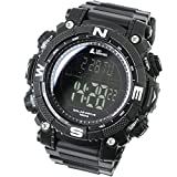 [LAD Weather] Digital Watch Powerful Solar Battery 100 Meters Water Resistant Military Outdoor Smarter smartwatch