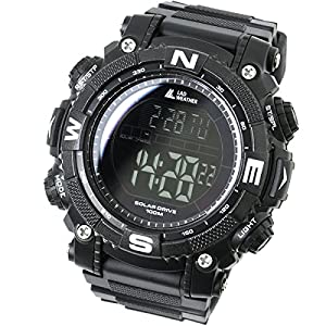516aodOYYSL. SS300  - [LAD WEATHER] Digital watch Powerful solar battery 100 meters water resistant Military Outdoor smarter smartwatch