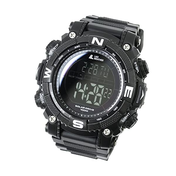 516aodOYYSL. SS600  - [LAD WEATHER] Digital watch Powerful solar battery 100 meters water resistant Military Outdoor smarter smartwatch