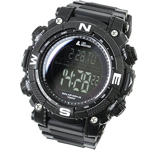 516aodOYYSL - [LAD WEATHER] Digital watch Powerful solar battery 100 meters water resistant Military Outdoor smarter smartwatch