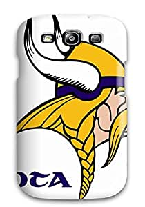 DanRobertse Case Cover Protector Specially Made For Galaxy S3 Minnesota Vikings
