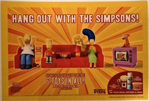Simpsons Burger King 2008 Fast Food 11