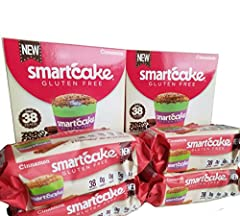 The Smartcake goes beyond Gluten Free. Its most unique feature is the combination of being gluten-free and net-zero carbs. There are no sugars and no starches in the product, which makes it ideal for people with carbohydrate-restricted diets,...