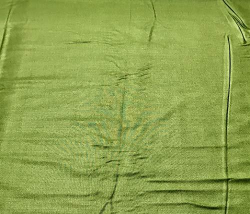 - Apple Green - Rayon Gabardine Fabric