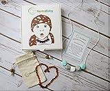 Baltic Amber Baby Teething Necklace Gift Set