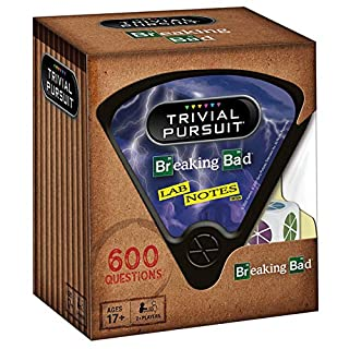 Trivial Pursuit Breaking Bad (Quickplay Edition) | Trivia Game Questions from AMC's Breaking Bad Television Show | 600 Questions & Die in Travel Container | Officially Licensed Breaking Bad Game