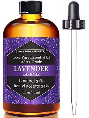 Pure Body Naturals Lavender Essential Oil by Pure Body Naturals