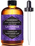 Lavender Essential Oil Triple AAA+ Grade Premium Quality - 1 fl. Oz from Pure Body Naturals