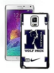 NADIA 2015 Love With Custom Designed Wonderful phone case for nevada wolfpack 02 Black Samsung Galaxy Note 4 N910A N910T N910P N910V N910R4 Case