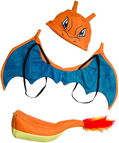 Pokemon Children's Halloween Costumes (Rubie's Costume Pokemon Charizard Child Costume)