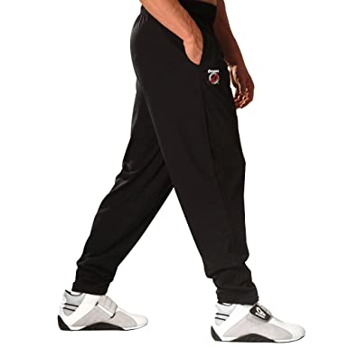 c7f58e3a584c Otomix Men s 100% Cotton Solid Color Baggy Bodybuilding Workout Pants at  Amazon Men s Clothing store