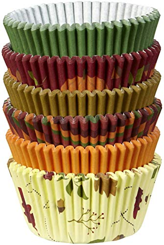 Autumn Baking Cupcake Liners 150 CT Wilton
