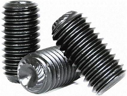 Socket Set Screw Alloy Steel Hex Socket Thread Diamater: 3//8 inch x Length: 1//2 inch Black Oxide 3//8-16 x 1//2 Quantity: 100 Coarse Thread Knurled Cup Point