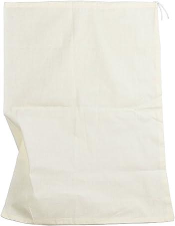 Bolsa de algodón reutilizable, de Therpin, de malla fina, para el filtro de alimentos, horchatas, zumos, tés, para fabricar queso, yogures, cerveza, lúpulo , 35cm x 25cm: Amazon.es: Hogar