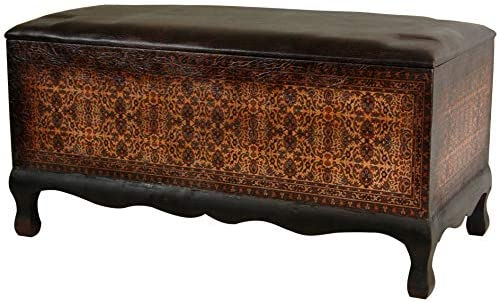 Oriental Furniture Olde-Worlde Euro Baroque Bench