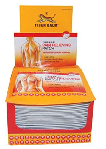 Tiger Balm Pain Relieving Patch -- 36 per (Back Tiger)