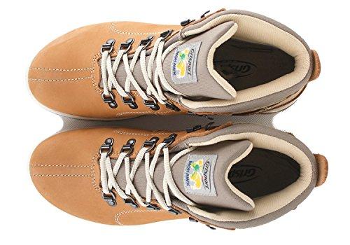 Scarpe Nabuk 12905 Aperta N75g Da Trekking In All'aria Gial Grisport Scarpe Trekking Da Pelle Delle Donne Scarpe Stivali Cammello Solitario OAqat1xTw