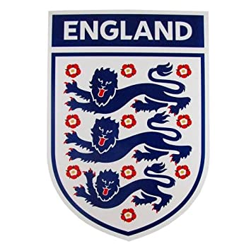 1dc1775c370 Large World Cup Official Magnetic England 3 Three Lions Car   Van Badge  Crest