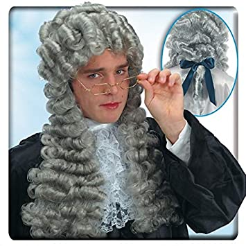 Carnival Toys Juez Luis XIV peluca gris siglo 18 [2726]