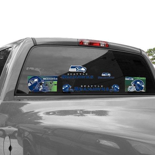 WinCraft NFL Seattle Seahawks 03776012 Multi Use Decal, 11
