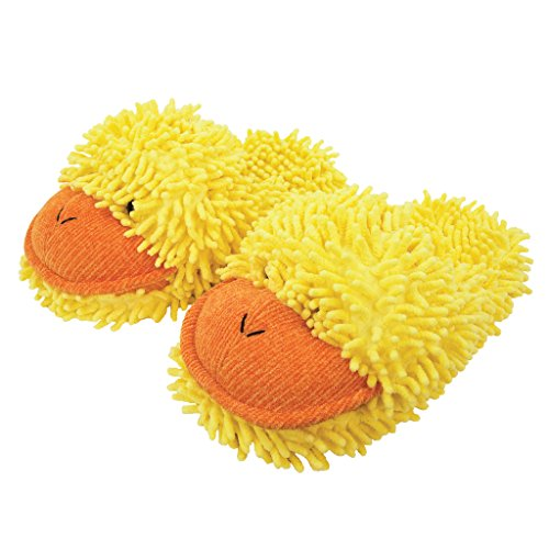 Kids Hausschuhe Aroma Unisex Slipper Yellow Kinder Home Fuzzy 18 Flache Eu Shoes yellow Duck xHapw0x