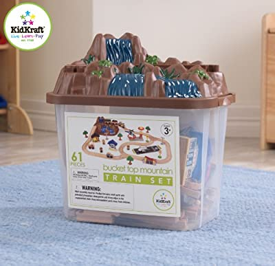 Kidkraft Bucket Top Mountain Train Set by KidKraft