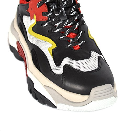 Noir Baskets Et Noir Chaussures Rouge Femme Rouge Addict Ash 0w1pvngRxq