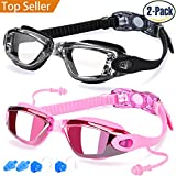 Swim Goggles, Pack of 2, Swimming Goggles - Best Reviews Guide