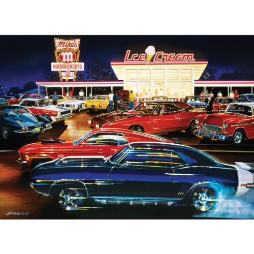 Masterpieces 1000-Piece Jigsaw Puzzle, 19.25 by 26.75-Inch, Saturday Night