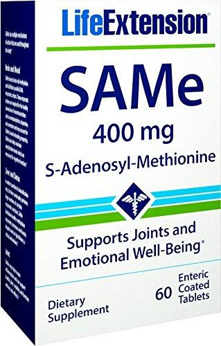 S-Adenosyl-Methionine 400 Mg, 30 Enteric Coated Tablets ()