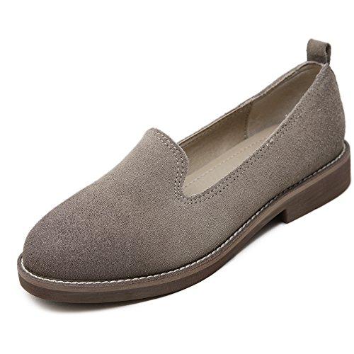Scrub Flats Women Shoes Low Heel Gray - Womens Cowboy Boots Size12