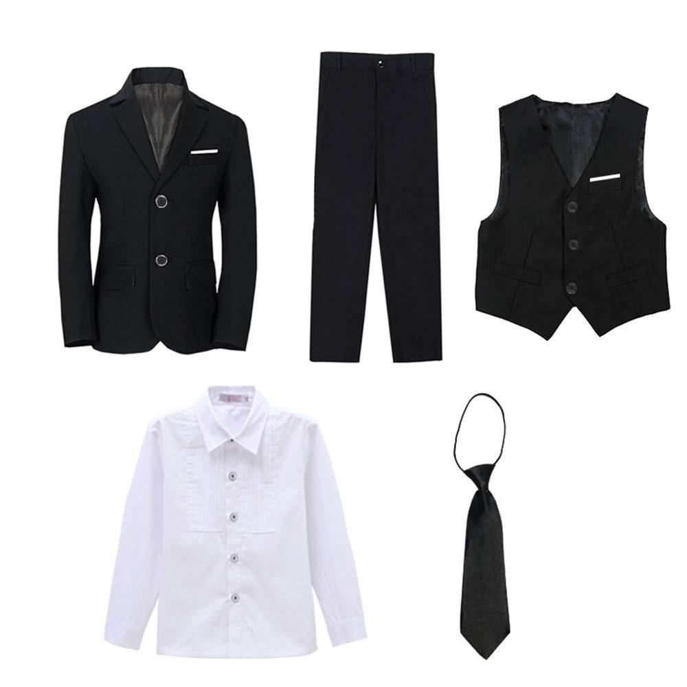 Iyan Boys Formal Wedding Slim Fit Suit Set for Boys