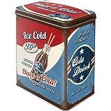 Nostalgic Art 30108 USA Have A Cola Storage Tin L!