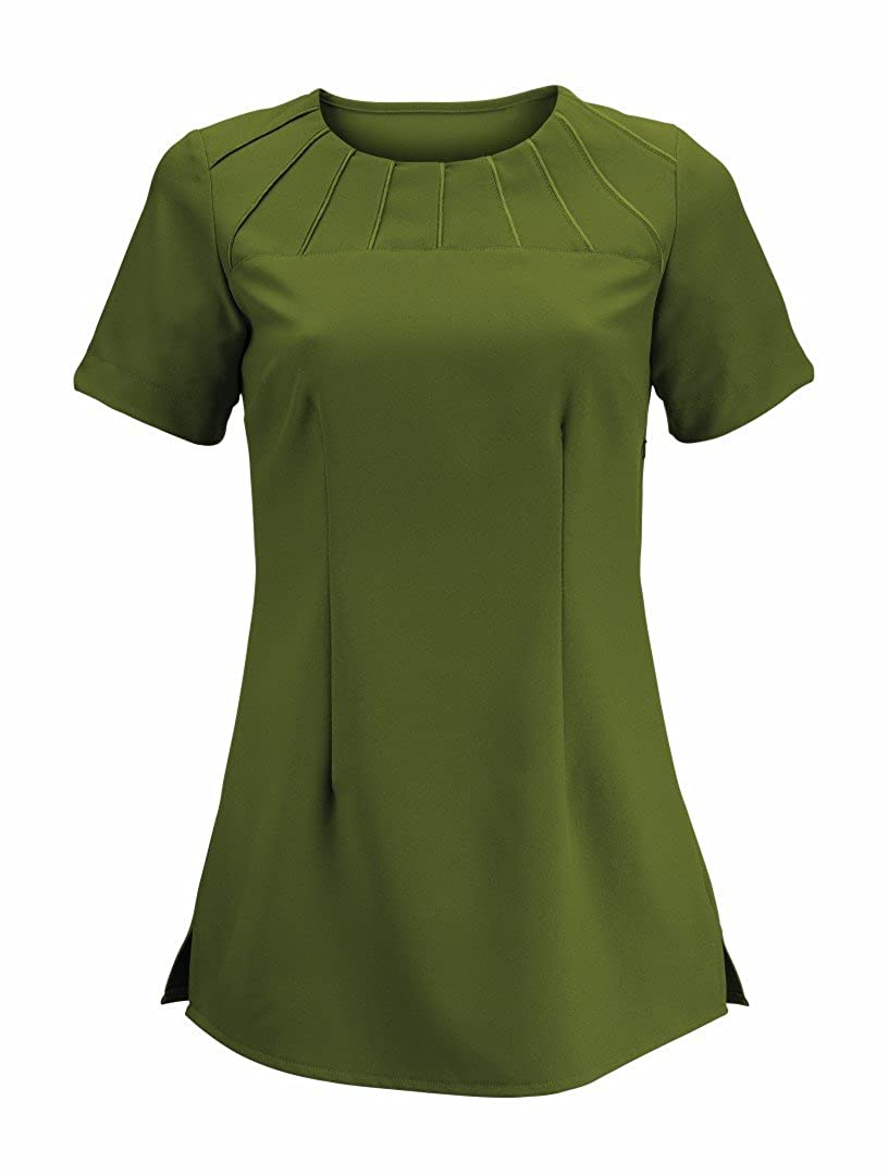 Alexandra Workwear Womens Satin Trim Beauty Tunic