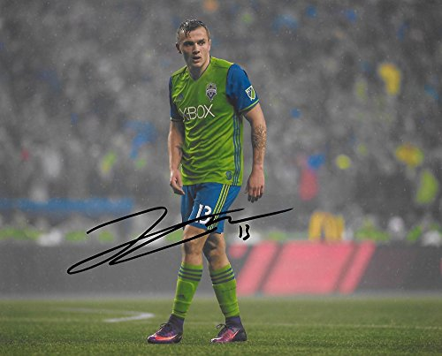 Jordan Morris, Seattle Sounders FC, Signed, Autographed, 8X10 Photo, a Coa with the Proof Photo of Jordan Signing Will Be Included.