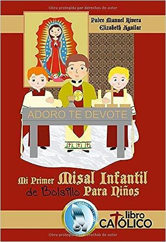 MI PRIMER MISAL INFANTIL DE BOLSILLO PARA NIÑOS: Amazon.es: Manuel ...