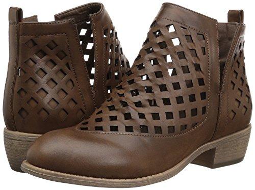 Brinley Co Karma - Botas de Tobillo para Mujer, Marrón (Café Oscuro), 9 M US: Amazon.es: Zapatos y complementos